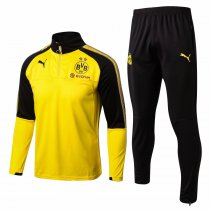 Borussia Dortmund Training Suit Zipper Yellow 2017/18