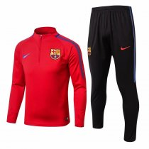 Barcelona Training Suit Red 2017/18