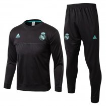 Real Madrid Training Suit O'Neck Black 2017/18