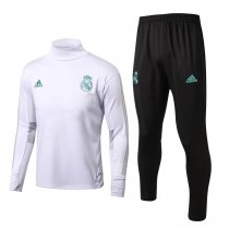 Real Madrid Training Suit Turtle Neck White 2017/18