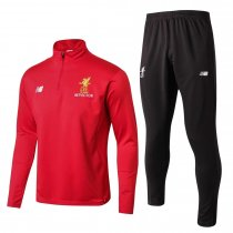 Liverpool Training Suit High Neck Zipper Red 2017/18