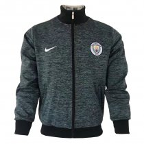 Manchester City Jacket Grey Sand 2017/18