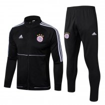 Bayern Munich Jacket + Pants Training Suit Black 2017/18