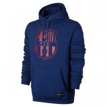 Barcelona Core Hoodie Royal Blue Men 2017/18