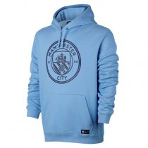Manchester City Core Hoodie Light Blue Men 2017/18