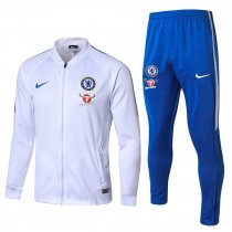 Chelsea Jacket + Pants Training Suit White 2017/18