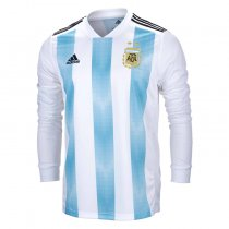 Argentina FIFA World Cup 2018 Home Jersey Long Sleeve Men's