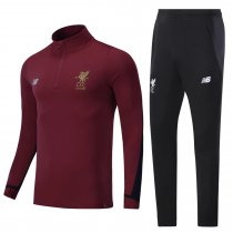 Liverpool Training Suit High Neck Zipper Burgundy 2017/18