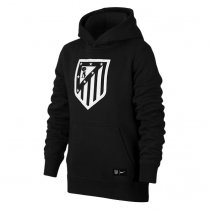 Atletico Madrid Core Hoodie Black Men 2017/18