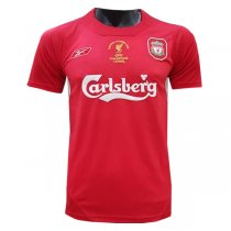 Liverpool 2005 UEFA Champion Home Retro Jersey Men