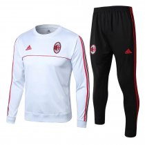 AC Milan Training Suit O'Neck White 2017/18