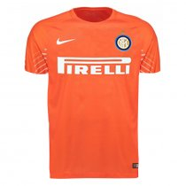 Inter Milan Goalkeeper Jersey Orange Men 2017/18