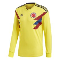 Colombia FIFA World Cup 2018 Home Jersey Long Sleeve Men