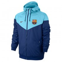 Barcelona Authentic Woven Windrunner Sky Blue Men 2017/18