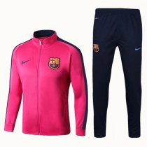 Barcelona Jacket + Pants Training Suit Pink 2017/18