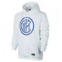 Inter Milan Core Hoodie Royal White Men 2017/18