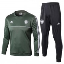 Manchester United Training Suit O'Neck Green 2017/18