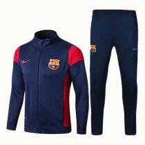 Barcelona Jacket + Pants Training Suit Royal Blue 2017/18
