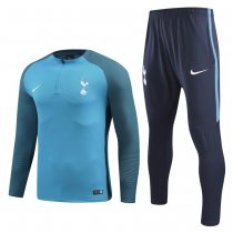 Tottenham Hotspur Training Suit Zipper Light Blue 2017/18