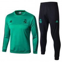Real Madrid Training Suit O'Neck Aqua 2017/18