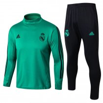 Real Madrid Training Suit Turtle Neck Aqua 2017/18
