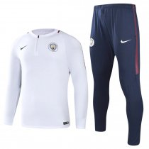 Manchester City Training Suit White 2017/18