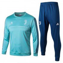 Juventus Training Suit O'Neck Aqua 2017/18