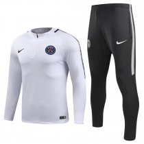 PSG Training Suit Zipper White 2017/18