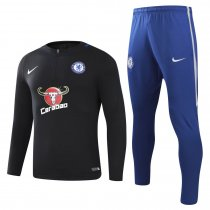 Chelsea Training Suit Black 2017/18