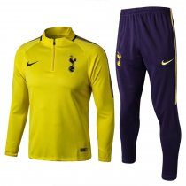 Tottenham Hotspur Training Suit Zipper Yellow 2017/18