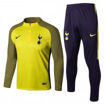 Tottenham Hotspur Training Suit Zipper Yellow Stripe 2017/18