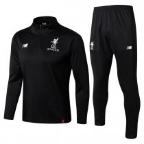 Liverpool Training Suit High Neck Zipper Black 2017/18