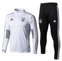 Germany FIFA World Cup 2018 Training Suit Zipper White