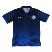Chelsea Polo Shirt Camouflage Blue 2018