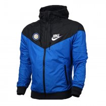 Inter Milan Authentic Woven Windrunner Blue Men 2017/18