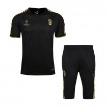Juventus Short Training Suit Champions League Black 2015/16