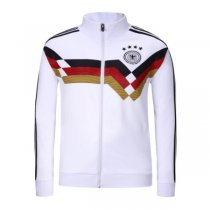 Germany Jacket High Neck White