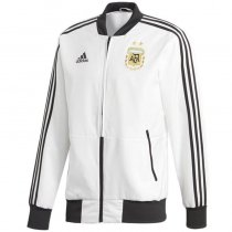 Argentina Authentic Woven Windrunner White Men's 2018