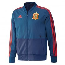 Spain Authentic Woven Windrunner Blue Men 2018