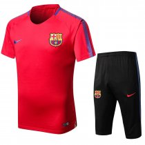 Barcelona Short Training Suit Red 2017/18