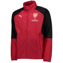 Arsenal Authentic Woven Windrunner Red Men 2017/18