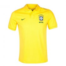 Brazil FIFA World Cup 2018 Polo Shirt Yellow