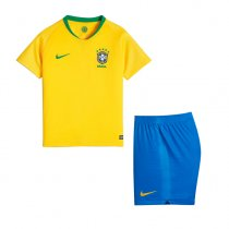 Brazil FIFA World Cup 2018 Home Jersey Kids'