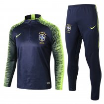 Brazil FIFA World Cup 2018 Training Suit Royal Blue Stripe