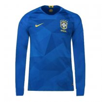 Brazil FIFA World Cup 2018 Away Jersey Long Sleeve Men's