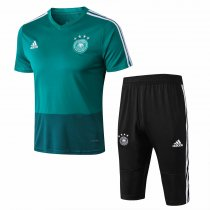 Germany FIFA World Cup 2018 Short Training Suit Green
