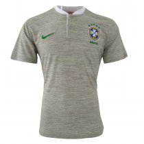Brazil FIFA World Cup 2018 Polo Shirt Grey