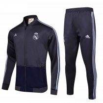 Real Madrid Jacket + Pants Training Suit Grey 2018/19