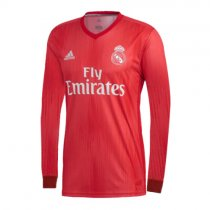 Real Madrid Third Jersey Long Sleeve Men's 2018/19