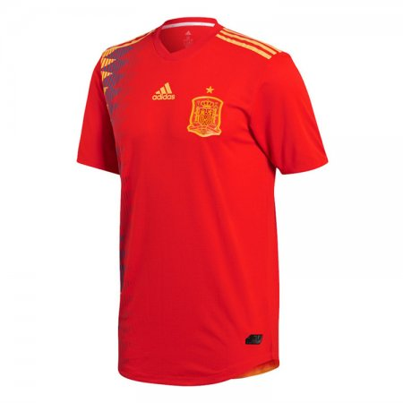 Spain FIFA World Cup 2018 Home Jersey Men's - Match